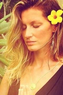 Vor Yoga-Fan Gisele liegen drei Tage Stille, eine beliebte Form der Meditation.