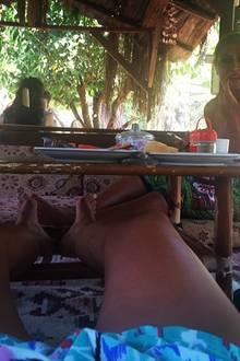 Sila Sahin postet einen weiteren Urlaubsschnappschuss.