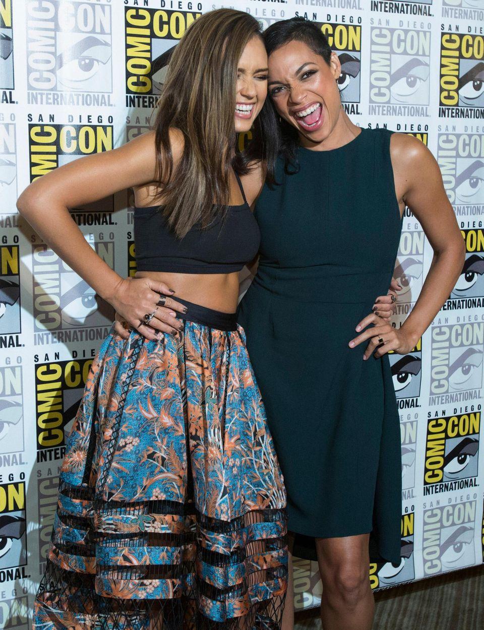 """Jessica Alba und Rosario Dawson spielen in der """"Sin City""""-Fortsetzung """"Sin City: A Dame To Kill For"""" mit."""