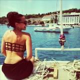 """""""Carpe diem"""" schreibt Mandy als Urlaubsgruß an ihre Instagram-Follower. Machen wir!"""