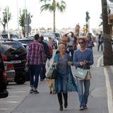 Dezember 2014  Flucht an die an die Costa Del Sol: In Marbella wollen Jenny Elvers und Steffen von der Beeck endlich zur Ruhe kommen.
