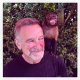 Juli 2014: Auf seinem Instagram-Account gratuliert sich Robin Williams mit diesem Bild selbst zu Geburtstag. Es wird das letzte Bild des Schauspielers sein.