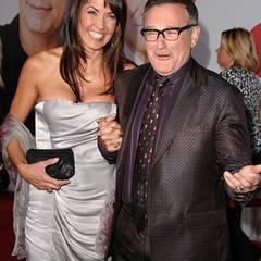 19. November 2009: Gut ein Jahr nach der Trennung von seiner Frau Marsha hat Robin Williams sich erstmals mit seiner neuen Liebe
