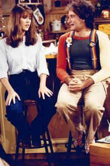 """1978: Mit der Fernsehserie """"Mork vom Ork"""" feiert der 27-jährige Robin Williams seinen Durchbruch im Fernsehen. Vorher war er bereits als Stand-up-Comedian beliebt. Schon damals hatte der Komiker mit Alkoholproblemen zu kämpfen."""