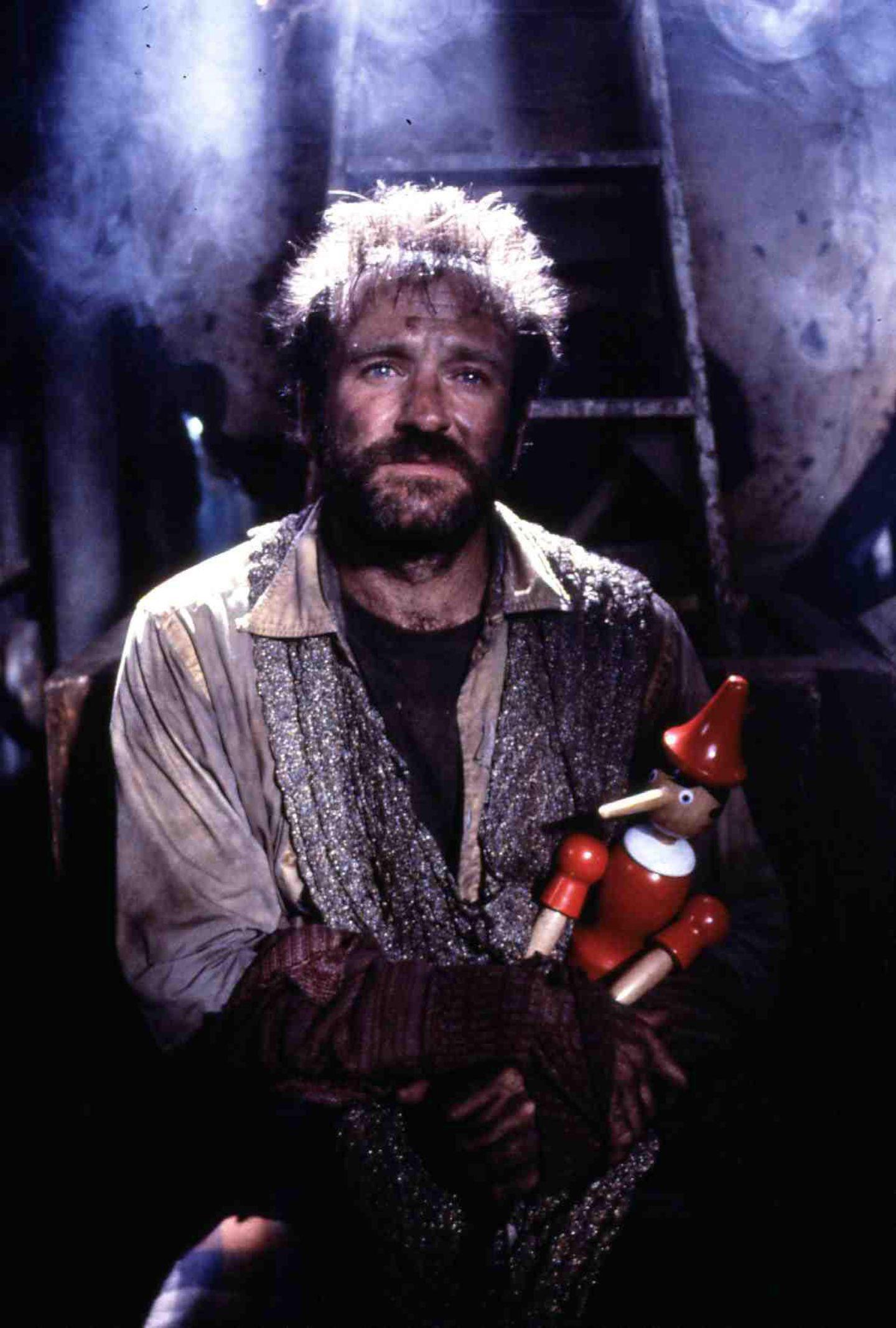 """1991: Seine Rolle in """"König der Fischer"""" bringt Robin Williams eine weitere Oscar-Nominierung als Bester Hauptdarsteller ein."""