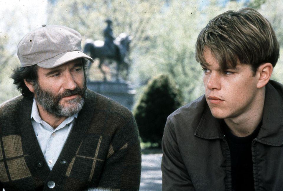 """1997: Seine Darstellung in """"Good Will Hunting"""", bringt Robin Williams den Oscar als Bester Nebendarsteller ein."""