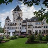 Schloss Berg in Colmar-Berg ist die Residenz von Großherzog Henri von Luxemburg und seiner Familie.