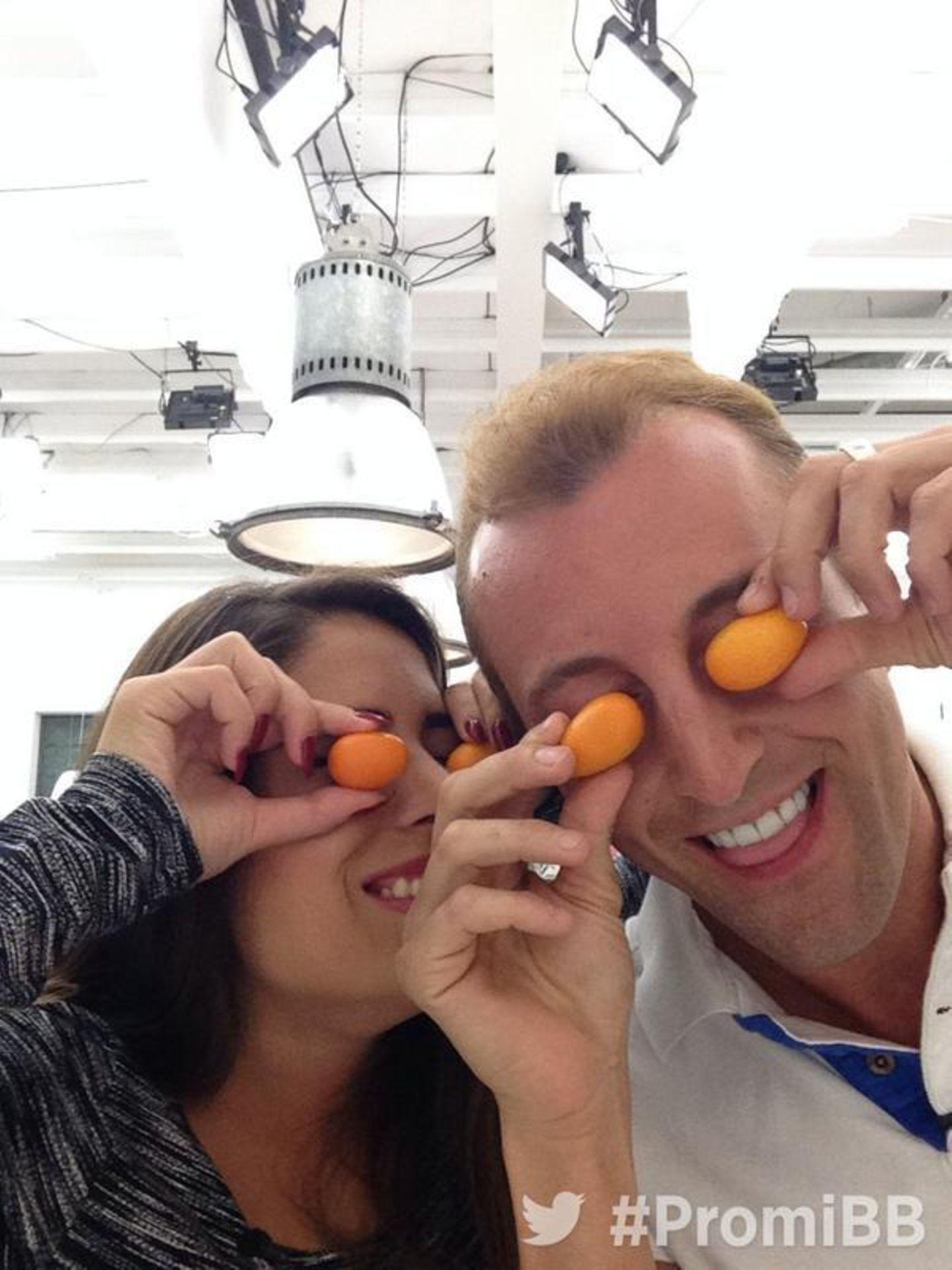 Tomaten auf den Augen? Nein, Kumquats!