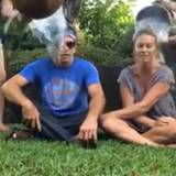 Ben Stiller und seine Frau Christine Taylor