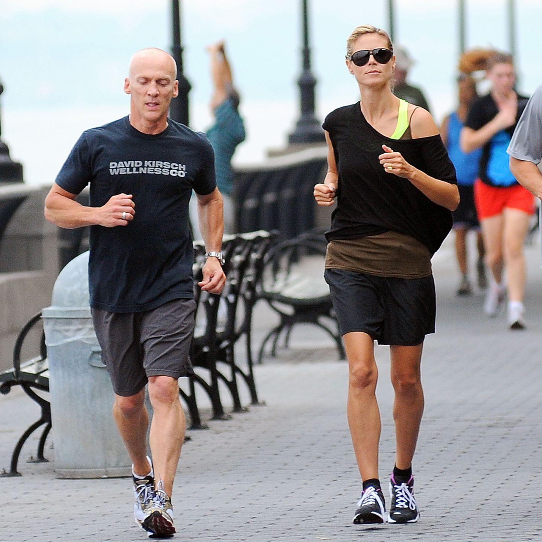 Wer schön sein will, muss leiden! Fitnesstrainer David Kirsch ist der Personal Coach vieler Stars und scheucht auch Heidi Klum durch die Straßen von New York.