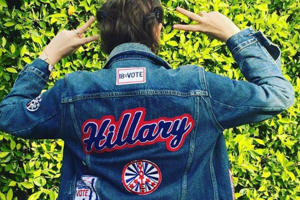 Team Hillary: Lena Dunham betreibt Wahlkampf