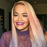 Bloß nicht zu knallig! Vielleicht setzt Rita Ora mit ihrem Ombré-Look in Blond und Pastelltönen einen neuen Trend.