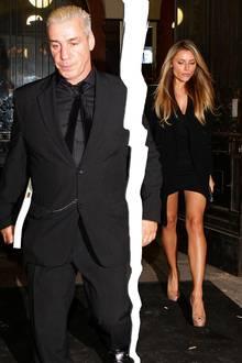 """Fünf Jahre lang waren Sophia Thomalla und """"Rammstein""""-Frontmann Till Lindemann ein ungleiches, aber scheinbar glückliches Paar - trotz 26 Jahren Altersunterschied."""