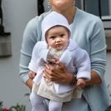 Prinzessin Victoria setzt bei Töchterchen Estelle ganz auf sanfte Pastelltöne.