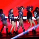 Beyoncé Knowles tanzt gegen die Trennungsgerüchte an.