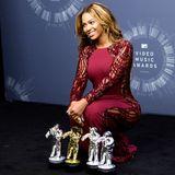 Beyoncé Knowles ist die Abräumerin des Abends.