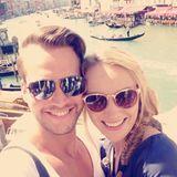 Anna Christiana Hofbauer und Marvin Albrecht verbingen ihren ersten gemeinsamen Kurzurlaub im romantischen Venedig.
