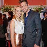 """""""Bachelorette"""" Anna Hofbauer und ihr Auserwählter Marvin Albrecht fühlten sich sichtlich wohl beim GALA Fashion Brunch."""