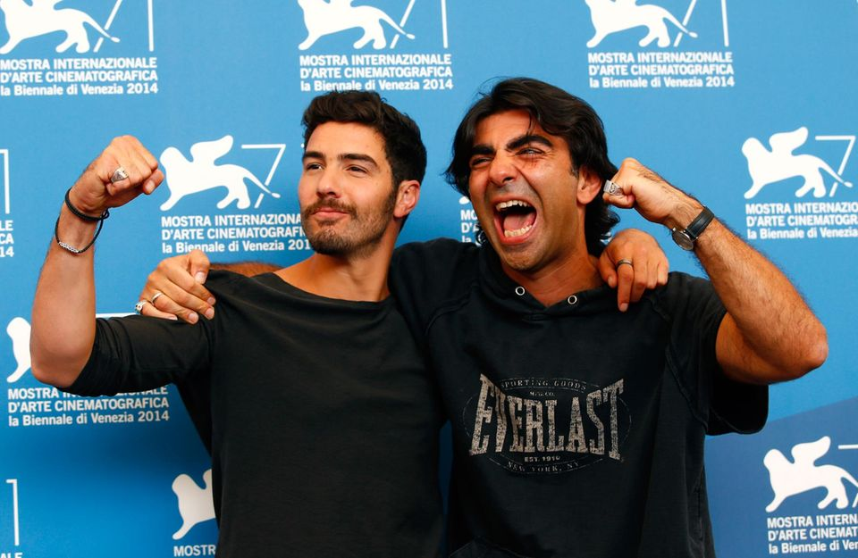 """Tahar Rahim und Fatih Akin stellen in Venedig ihren Film """"The Cut"""" vor."""