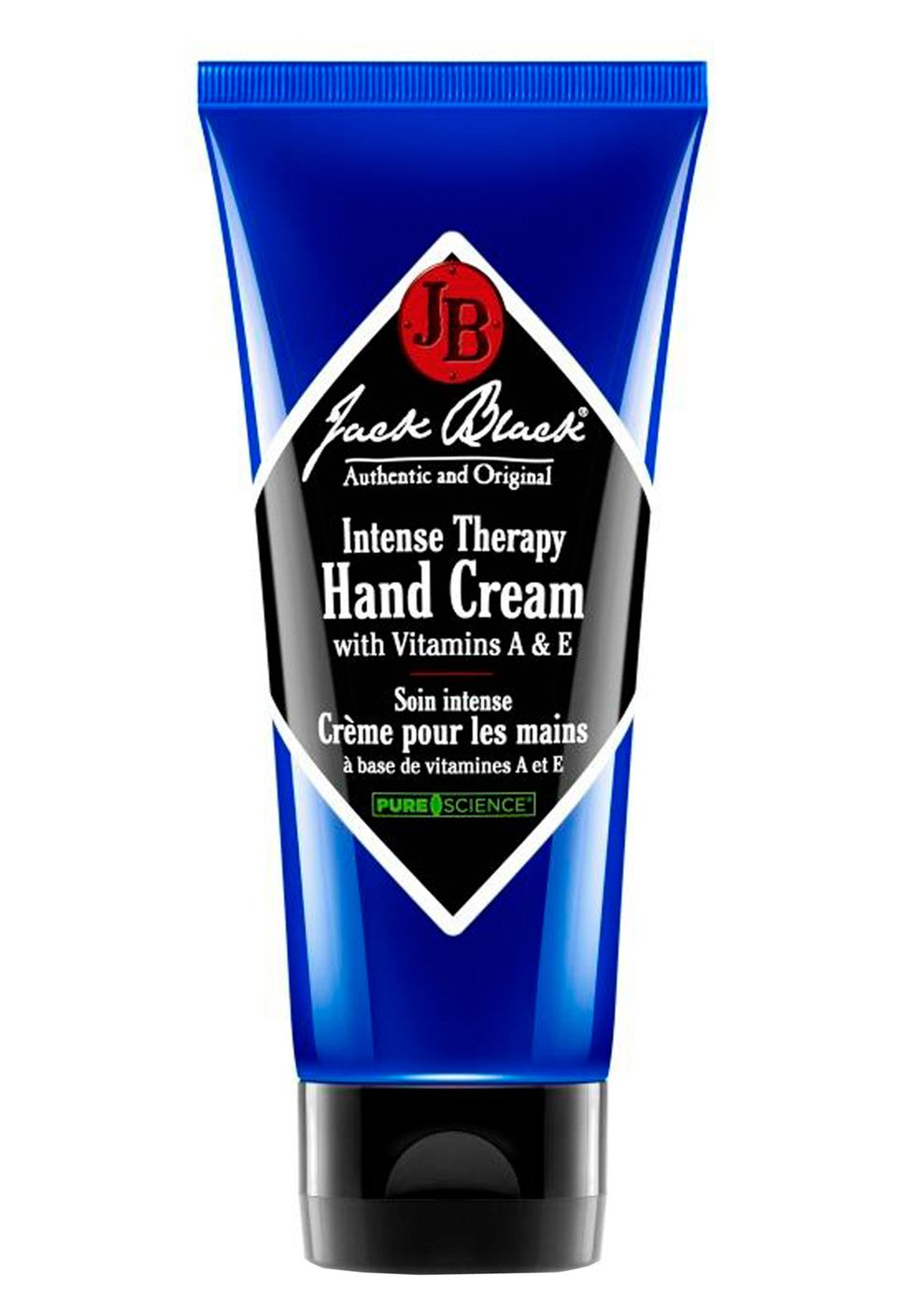 "Vitamin A und E reparieren rissige Haut: ""Intense Therapy Hand Cream"" von Jack Black, 88 ml, ca. 17 Euro"