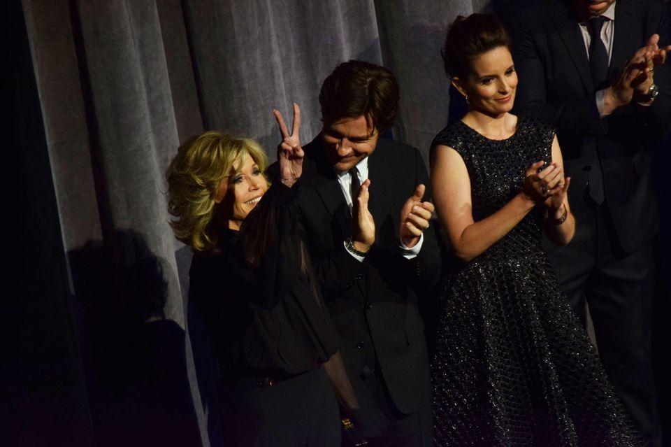 Jane Fonda, Jason Bateman und Tina Fey