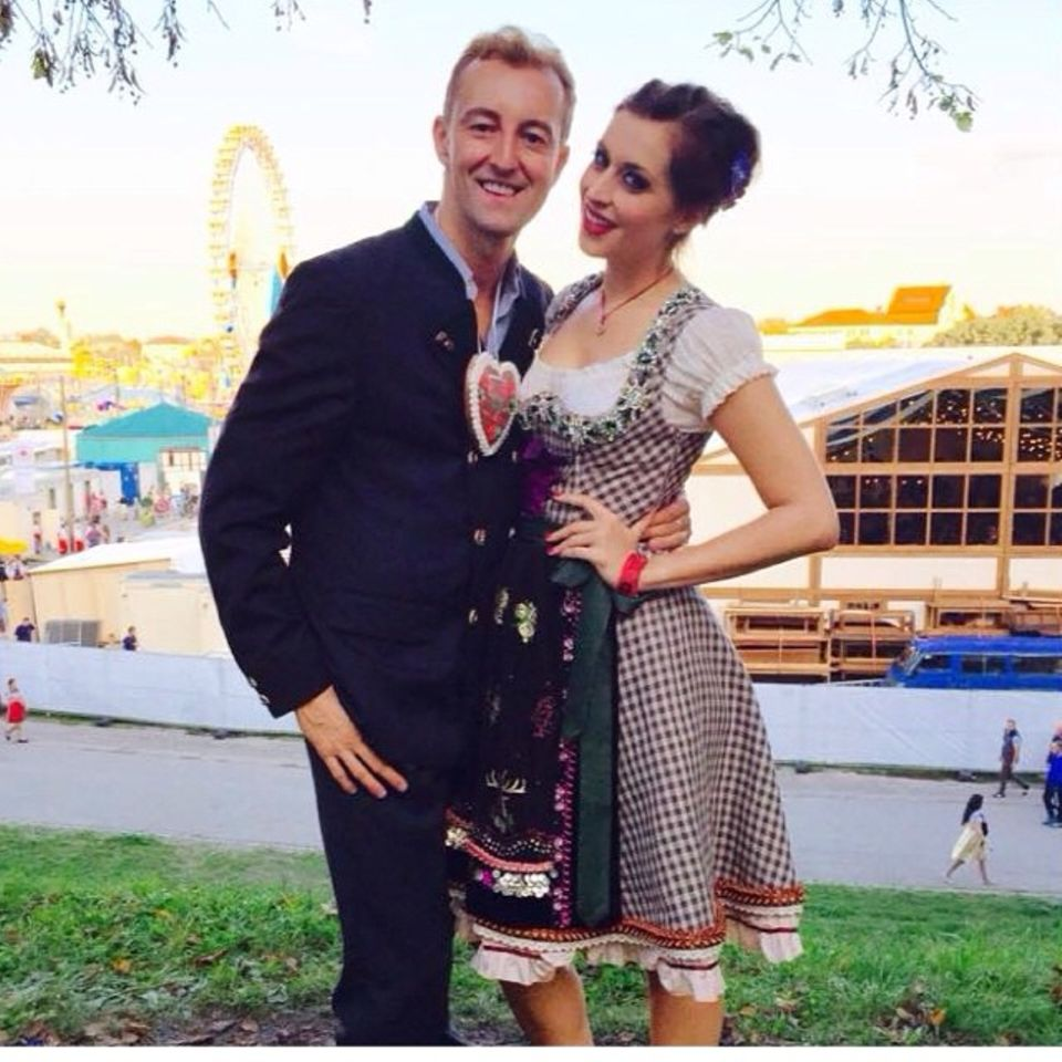 Verena Kerth mit Prinz Mario-Max zu Schaumburg-Lippe