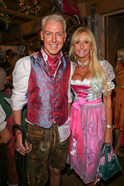 H.P-Baxxter mit Freundin Nikola Jansco.