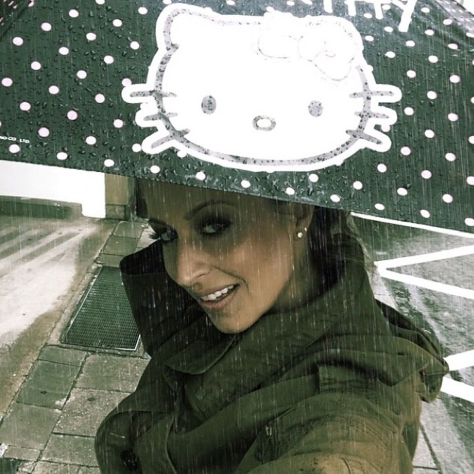 Verena Kerth ist scheinbar eine wahre Katzen-Liebhaberin!