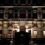 """Die Zeremonie findet im Sieben-Sterne-Hotel """"Aman Canal Grande"""" statt."""