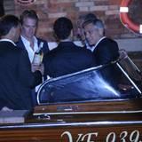 George Clooney bei seinem Junggesellenabschied