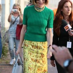 """""""Vogue""""-Chefin Anna Wintour bei ihrer Ankunft in Venedig"""