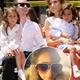 """Ein Shetlandpony und eine Babykrippe aus reinster, ägyptischer Baumwolle: Das bekam Jennifer Lopez' Zwillinge Emme und Max zu ihrer Geburt geschenkt. Doch damit nicht genug. Für das richtige Funkeln in den Augen gab es zusätzlich Rasseln, die mit echten Diamanten besetzt waren. Kein Wunder also, dass sich die """"Mini-J.Lo"""" heute gerne in Pelze hüllt."""