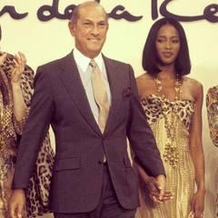 """In den 90er-Jahren lief Naomi Campbell als Model für Oscar de la Renta über den Catwalk. Auf Instagram würdigt sie ihm mit dem Titel """"Gentleman of Fashion""""."""