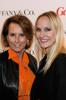 Gastegeber des Abends: Gitta Gräfin Lambsdorff (Managing Director Tiffany & Co.) und Anne Meyer-Minnemann (GALA-Chefredakteurin)