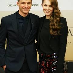 Thomas Müller und seine Frau Lisa