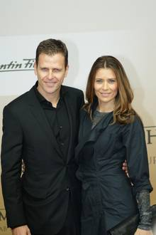 Oliver Bierhoff und seine Frau Klara