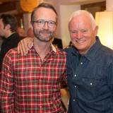 Marcus Luft (Mode-Chef/Mitglied GALA-Chefredaktion) zeigt sich mit Ehrengast Werner Baldessarini (Baldessarini).