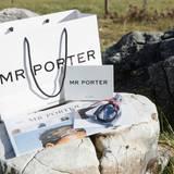 Auch MR PORTER hat für die Buddies ein tolles Paket zusammengestellt.