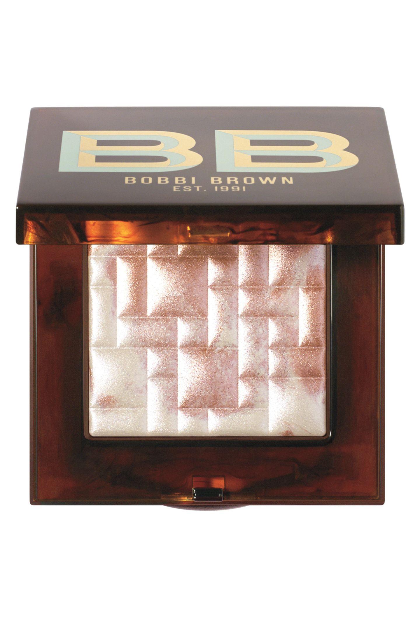 """""""Highlight Powder – Pink Glow"""" aus der """"Scotch on the Rocks""""- Kollektion von Bobbi Brown, ca. 48 Euro"""