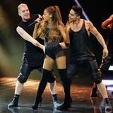 """Ariana Grande wird als """"Newcomerin"""" ausgezeichnet."""