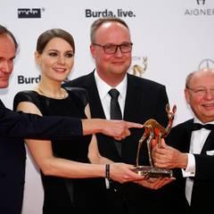 "Das Team der beliebten ""heute-show"" - Olaf Schubert, Martina Hill, Oliver Welke und Hans-Joachim Heist - bekommt den Comedy-Bambi."