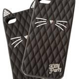 """Miau! Popstar Katy Perry entwarf die iPhone-Hülle """"Black Cat"""". Von Claire's, ca. 13 Euro"""