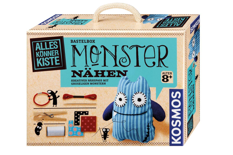 Kreativ: Mit diesem Set kann man kleine Monster selber machen. Von Kosmos, ca. 20 Euro, über www.amazon.de