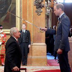 17. September 2015: Auf Schloss Windsor übernimmt Prinz William eine Investiturzeremonie und verleiht Orden und Titel.