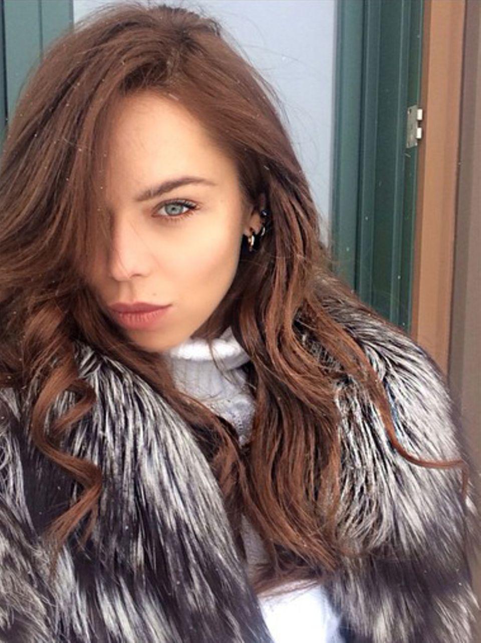 Liliana Matthäus macht über Thanksgiving ein paar Tage Skiurlaub in Aspen.