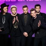 """Das lässt viele Mädchenherzen höher schlagen: Die Jungs von """"One Direction"""" werden als beste Popband ausgezeichnet."""