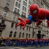 """In Manhattan findet die jährliche """"Macy's Thanksgiving Day Parade"""" statt."""