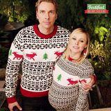 Weihnachtswahnsinn im Partnerlook: Dax Shepard und die schwangere Kristen Bell bezaubern ihre Instagram-Fans mit diesen festlichen Exemplaren.