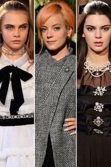 Cara Delevingne, Lily Allen, Kendall Jenner