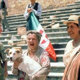 """1999 sieht man sie in dem Film """"Tee mit Mussolini"""""""